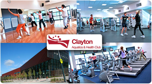60% off.  Celebrate ACT!VE MONASH at the Clayton Aquatic & Health Club. Only $29 for 1 Month unlimited health club access inc. unlimited gym, fitness cinema and 40+ fitness classes/week inc. Zumba, Yoga, Pilates, Les Mills and more.