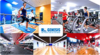83% off. Enjoy a Very Happy New You in 2013!  $28 for 28 days at our premier Genesis Mayfield gym. Includes 28 days Unlimited Gym + Cardio + Classes (Zumba, Pilates, Yoga, Cycle, and more) + 1 Intro Personal Training Session.