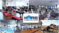 81% off. Make health and fitness the Kore of your Life in 2014! It's only $29 for 4 weeks gym, group fitness and swimming access at Kore Wellness and Swim Centre.  A health club catering for the whole family! Normally $149 - Save $120!