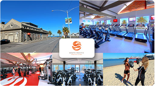 90% off at one of the friendliest health clubs around. Be part of the South Pacific family with only $10 for 5 days Unlimited Access to our state of the art Port Melbourne gym. Includes over 40 classes per week inc. Yoga, Pilates, Zumba, Cycle and more. Normally $100 – Save $90!