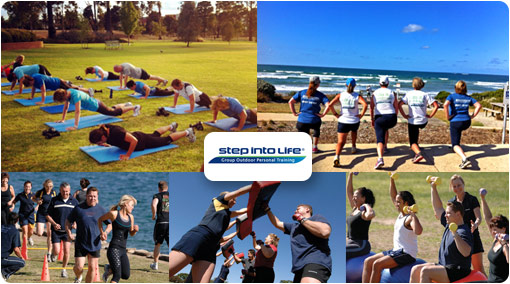 Personal Training at a fraction of the cost! Experience the Step into Life difference for only $29 of Unlimited Group Outdoor Personal Training at Step into Life Kensington Gardens. All fitness levels welcome! Normally $132 - Save $103!