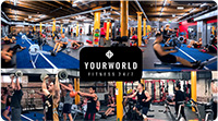 93% off. Experience a new world of fitness! It's only $19 for 1 month Gym,