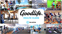 92% off. Welcome to the Goodlife! Just $10 for 10 days Unlimited Access to Goodlife Brisbane QLD. 10 Days Unlimited Gym, Cardio and Classes (inc. Pilates, Yoga, HIIT, Boxing, Les Mills and more) + 1 Session with a Personal Trainer. The new you starts NOW! Normally $125 - Save $115!