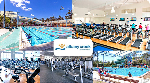 80% off - Only $19.95 for 4 weeks. Get the family into fitness at the Albany Creek Leisure Centre. Enjoy Unlimited Gym, Cardio and Group Fitness inc Albany Creek Yoga, Pilates, Zumba and more. Also enjoy 4 weeks Swimming Pool Access. Normally $99.95 – Save $80!