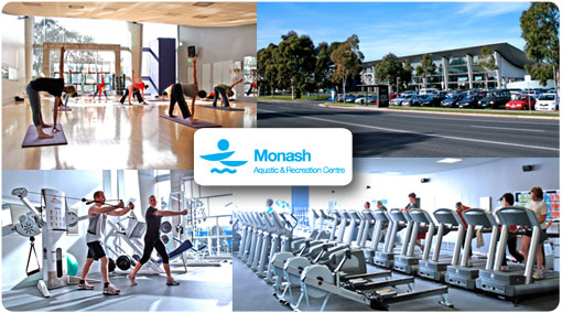 69% off. Celebrate ACT!VE MONASH at the Monash Aquatic and Recreation Centre. Only $29 for 1 Month unlimited health club access inc. unlimited gym, fitness cinema and 60+ fitness classes/week inc. Zumba, Yoga, Pilates, Cycle and more.